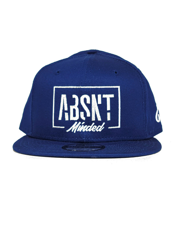 Absnt Minded blue snapback hat