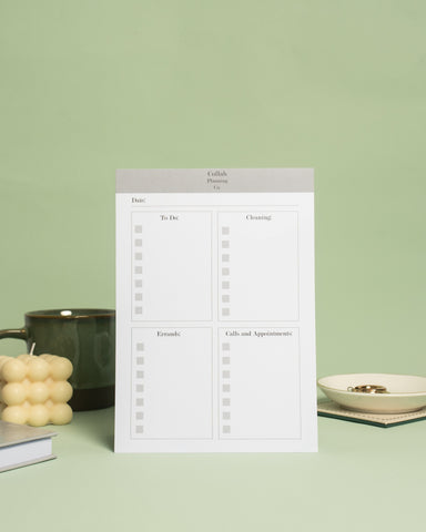 Collab Planning Co Household Desk Pad