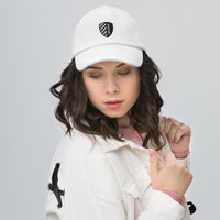 BHUSD White Cotton Cap