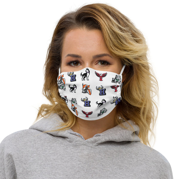 BHUSD Mascot Face Mask