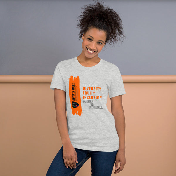 Light Grey Short-Sleeve Unisex T-Shirt - National Bullying Prevention Month and Unity Day