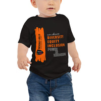 Black Baby Jersey Short Sleeve Tee - National Bullying Prevention Month and Unity Day