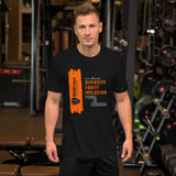 Black Short-Sleeve Unisex T-Shirt - National Bullying Prevention Month and Unity Day