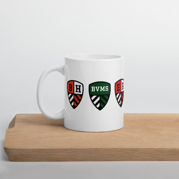 BHUSD Shield Mug