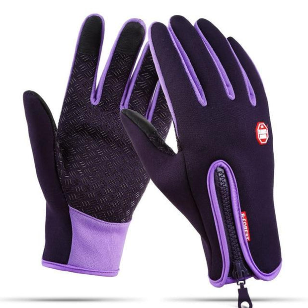 Waterproof Winter Warm Men Ski Snowboard Gloves - Health Wiser