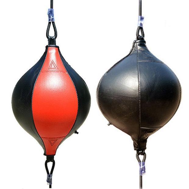 double end PU leather speed punching bag - Health Wiser