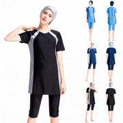 Arabic Islamic Women Three-Piece Suits Burkini - Health Wiser