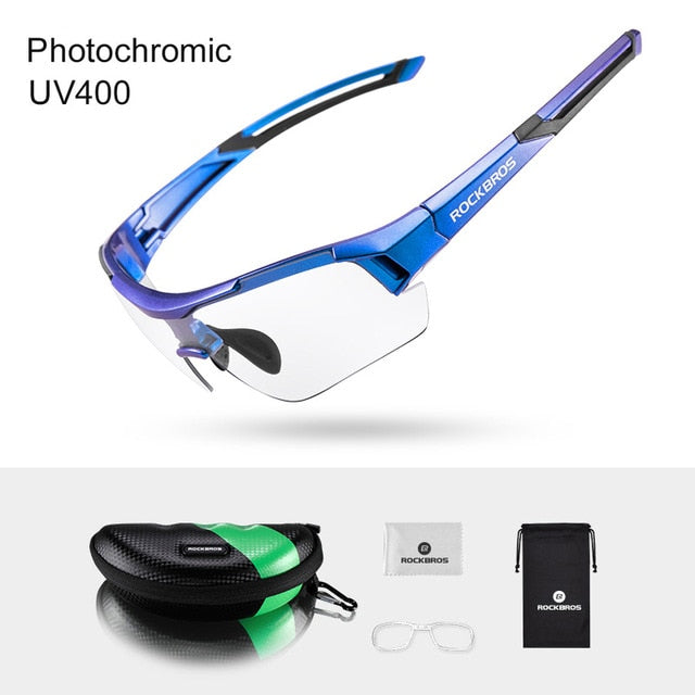 Bicycle photochromic Sunglasses - Health Wiser