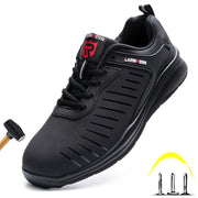 Lightweight Breathable Anti-Smashing Safety Shoes - Health Wiser