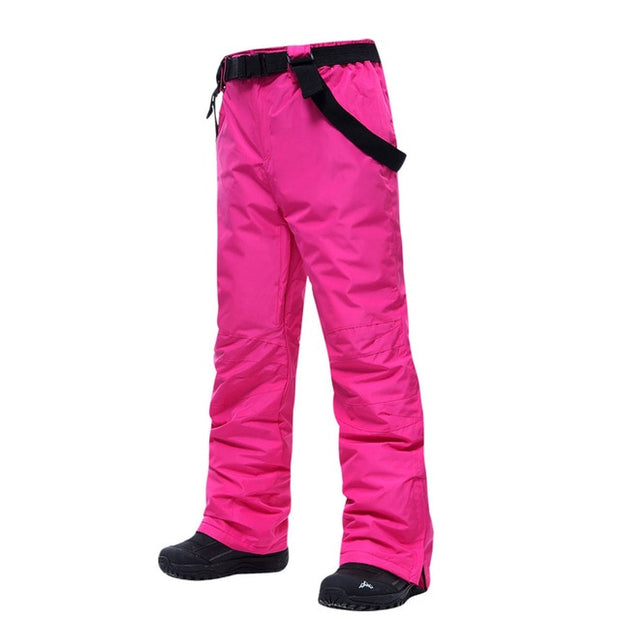 Unisex Waterproof Snowboard Pants - Health Wiser