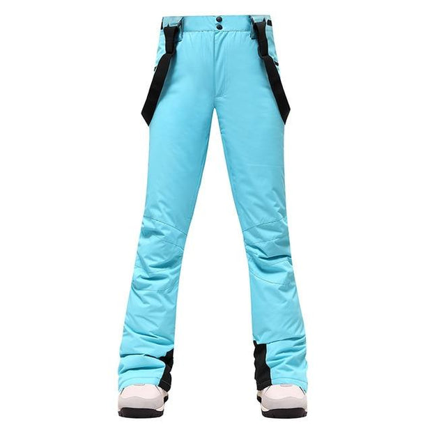 Women Waterproof Breathable Winter Snowboard Pants - Health Wiser