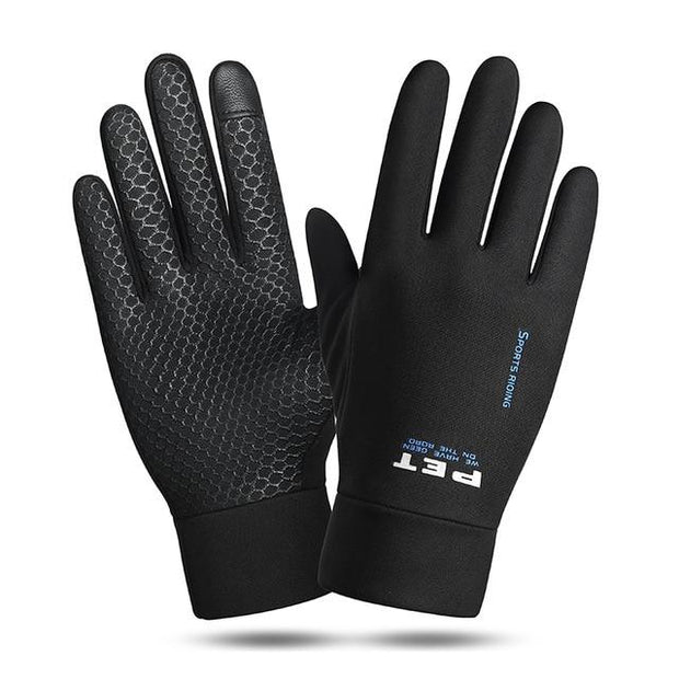 Winter Men Anti Slip Windproof Snowboard Gloves - Health Wiser