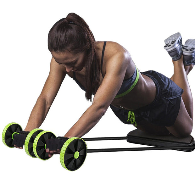 Double AB Roller Resistance - Health Wiser