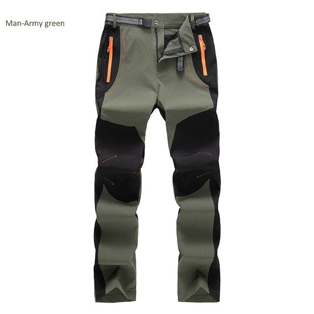 Men Elasticity Quick Dry Pants UV Proof Sports Trousers - Health Wiser