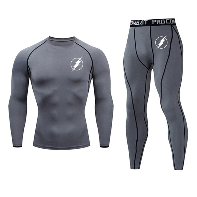 Men Compression Sport Tracksuits - Health Wiser
