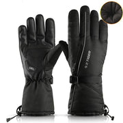 Men Women Thermal Fleece Snowboard Gloves - Health Wiser