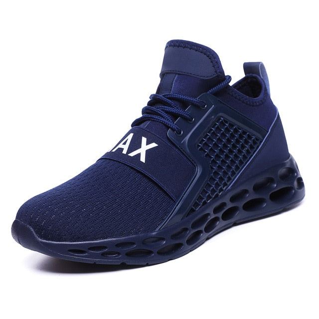 Mens Athletic Walking Blade Running Tennis Shoes - Health Wiser