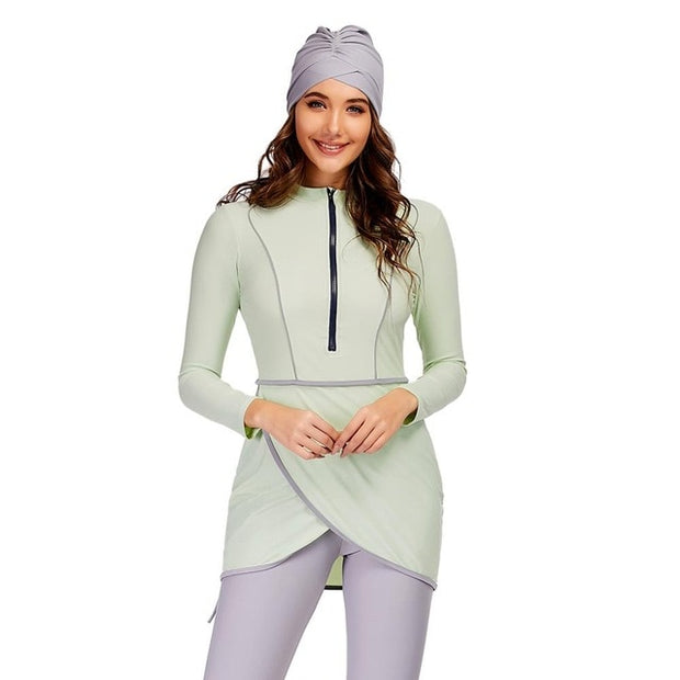 Women Modest 3pcs Islamic Burkinis - Health Wiser