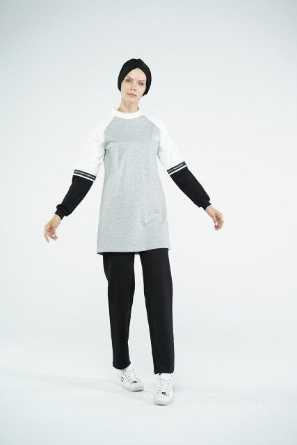 Hijab of Sportswear Tracksuit Set For Muslim Women - Health Wiser