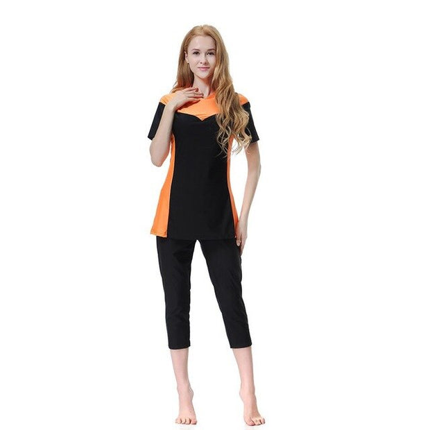 Muslim Women Swimwear Three-Piece Suits Burkini - Health Wiser