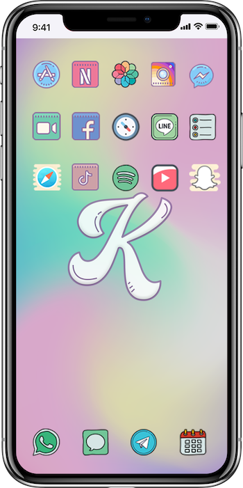Kawaii iOS Icons