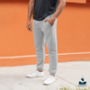 Grey Casual Unisex Jogger Pant