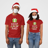 Keep Calm and enjoy christmas Men Half Sleeve T-shirt - Teeboat