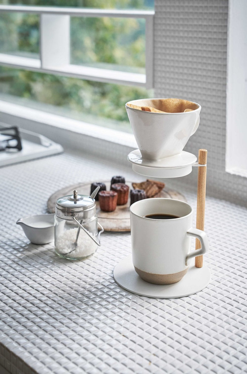Yamazaki Wood Pour-Over Dripper Stand
