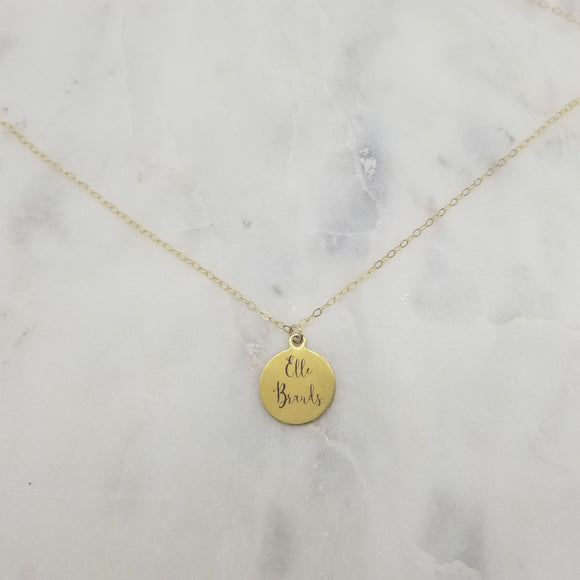 Elle Brands Charm Necklace