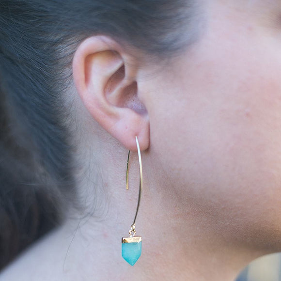 Amazonite Nellie Earrings