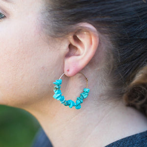 Turquoise Ella Earrings