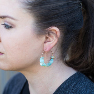 Amazonite Ella Earrings