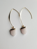Rose Quartz Nellie Earrings