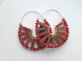 Red Jasper Dani Earrings