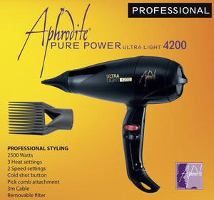Aphrodite Ultra Light 4200 Professional Hair Dryer - damaged box - Beauty Hair Products LtdElectricals
