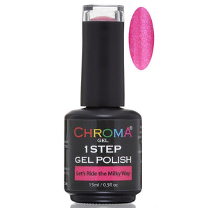 Chroma Gel 1 Step Gel Polish Let's Ride the Milky Way No.73 - Beauty Hair Products LtdChroma Gel