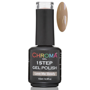 Chroma Gel 1 Step Gel Polish Love Me Slowly No.8 - Beauty Hair Products Ltd
