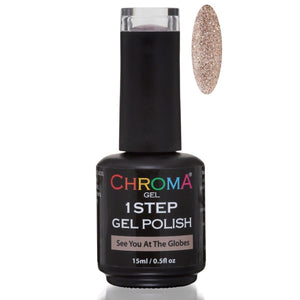 Chroma Gel 1 Step Gel Polish See You At The Globes No.35 - Beauty Hair Products Ltd