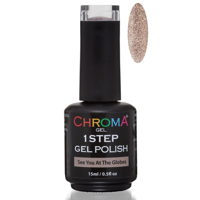 Chroma Gel 1 Step Gel Polish See You At The Globes No.35