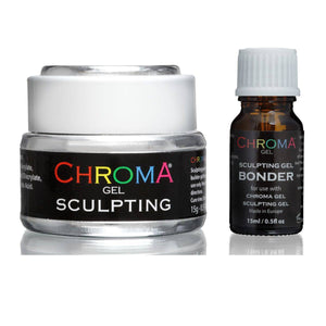 Chroma Gel | Sculpting Nail Gel | UV & LED & Bonder Set - Beauty Hair Products LtdChroma Gel