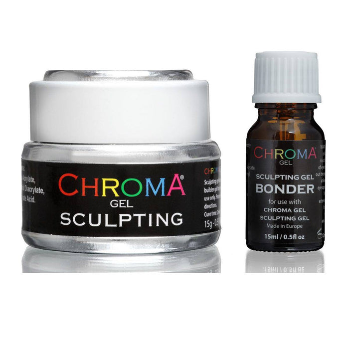 Chroma Gel | Sculpting Nail Gel | UV & LED & Bonder Set