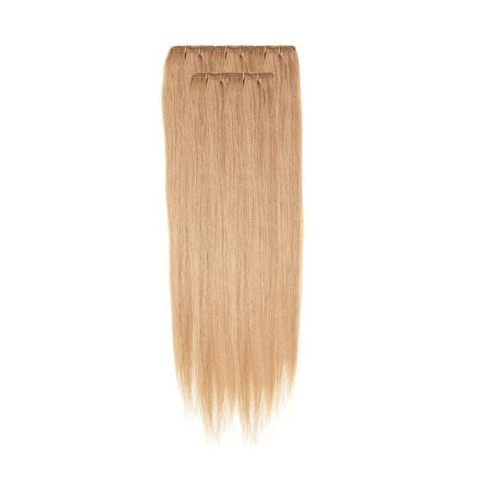 Economy Full Head Clip in Hair 18 inch | Blonde Dream (27)