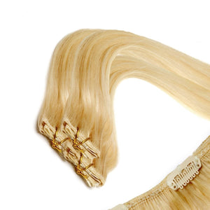 Economy Full Head Clip in Hair 18 inch | Blondie Blonde (22) - Beauty Hair Products LtdHair Extensions