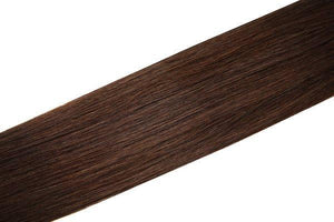 Economy Full Head Clip in Hair 18 inch | Dark Brown (3) - Beauty Hair Products LtdHair Extensions