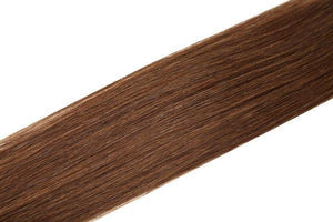 Economy Full Head Clip in Hair 18 Inch | Mocha Brown (4) - Beauty Hair Products LtdHair Extensions