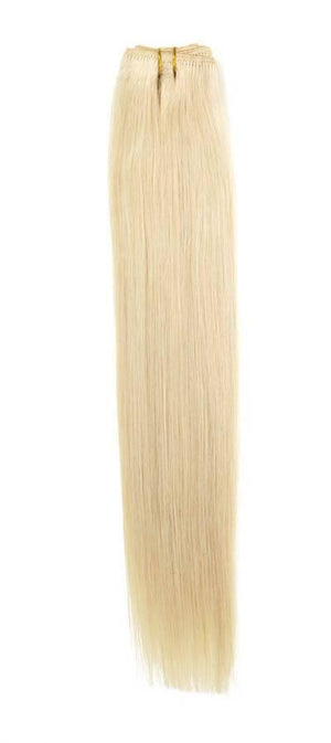 "Euro Weave Hair Extensions 18"" Colour 600 Blondest Blonde - Beauty Hair Products Ltd"