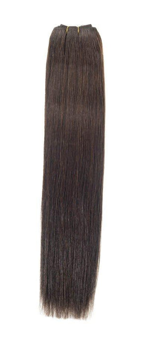 "Euro Weave Hair Extensions 22"" Dark Brown - Beauty Hair Products LtdHair Extensions"