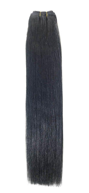 "Euro Weave Hair Extensions 22"" Jet Black - Beauty Hair Products LtdHair Extensions"