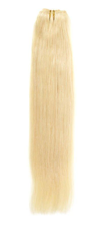 "Euro Weave Hair Extensions 22""  Light Blonde Starlight Mix P24/613"