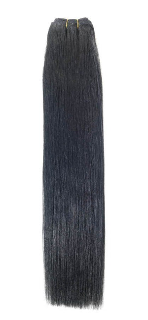 "Euro Weave Hair Extensions 24"" Colour 1 Jet Black - Beauty Hair Products LtdHair Extensions"